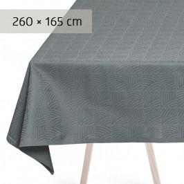 GEORG JENSEN DAMASK NANNA DITZEL asztalterítő, mineral blue, 260 × 165 cm