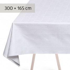GEORG JENSEN DAMASK NANNA DITZEL asztalterítő, white, 300 × 165 cm