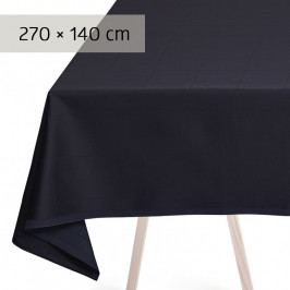 GEORG JENSEN DAMASK ENGESVIK asztalterítő, blue abyss, 270 × 140 cm