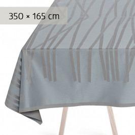 GEORG JENSEN DAMASK MIKADO asztalterítő, blue shimmer, 350 × 165 cm