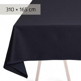 GEORG JENSEN DAMASK ENGESVIK asztalterítő, blue abyss, 310 × 165 cm