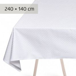GEORG JENSEN DAMASK SNOWFLAKES asztalterítő, white, 240 × 140 cm