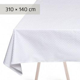 GEORG JENSEN DAMASK SNOWFLAKES asztalterítő, white, 310 × 140 cm