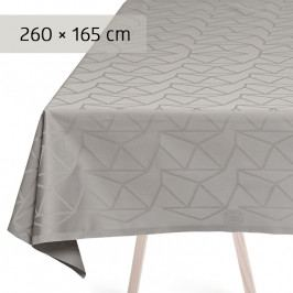 GEORG JENSEN DAMASK ARNE JACOBSEN asztalterítő, opal grey, 260 × 165 cm