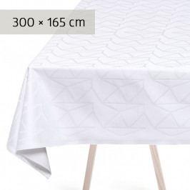 GEORG JENSEN DAMASK ARNE JACOBSEN asztalterítő, white, 300 × 165 cm
