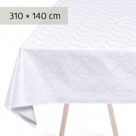 GEORG JENSEN DAMASK ARNE JACOBSEN asztalterítő, white, 310 × 140 cm