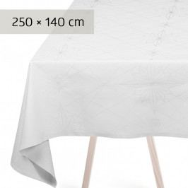 GEORG JENSEN DAMASK FINNSDOTTIR asztalterítő, white, 250 × 140 cm