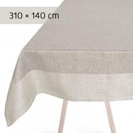 GEORG JENSEN DAMASK PLAIN asztalterítő, grey, 310 × 140 cm