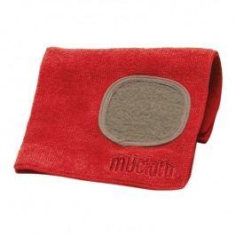 MÜkitchen MÜcloth mikroszálas törlőkendő, súrolórésszel, piros