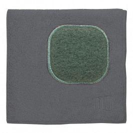MÜkitchen MÜcloth mikroszálas törlőkendő, súrolórésszel, szürke