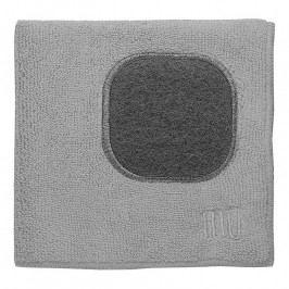 MÜkitchen MÜcloth mikroszálas törlőkendő, súrolórésszel, Nickel