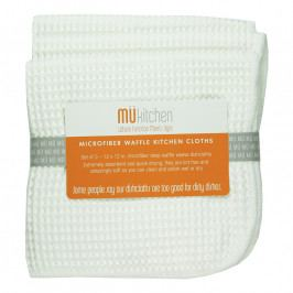 MÜkitchen MÜmicro® törlőkendő, 3 db, kockaszövésű, fehér