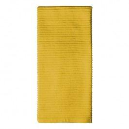 MÜkitchen MÜincotton® konyhai törölköző, bordűr díszítéssel, sárga