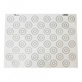 de Buyer Szilikon alátét macaron sütéséhez, jelzésekkel, 40 x 30 cm