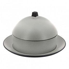 REVOL Exuinoxe Dim Sum gőzölő szett: párolóedény, tányér és fedő, holdezüst