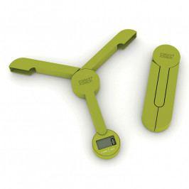 Joseph Joseph TriScale™ digitális konyhai mérleg, összecsukható, zöld
