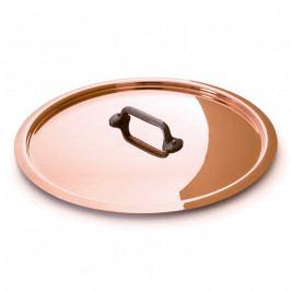 MAUVIEL Rézfedő öntöttvas fogantyúval, Ø 12 cm