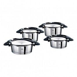 Fissler Intensa® edénykészlet, 4 darabos, fekete