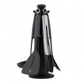Joseph Joseph Elevate™ konyhai segédeszközök forgatható állványon, fekete