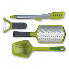 Joseph Joseph The Foodie™ konyhai segédeszközkészlet, 4 részes, zöld