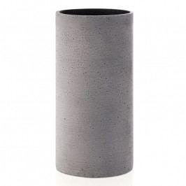 Blomus Coluna váza, közepes, sötétszürke