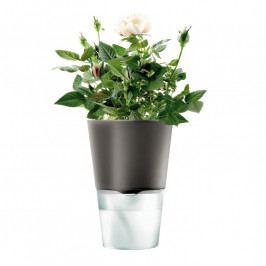 Eva Solo Önöntöző virágcserép, sötétszürke, Ø 11 cm