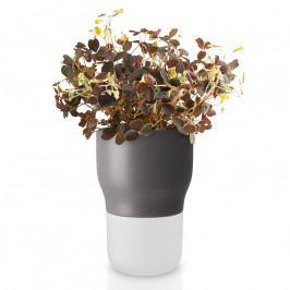 Eva Solo Önöntöző virágcserép, szürke, kerámia, Ø 9 cm