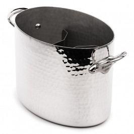 MAUVIEL Kovácsolt alumínium pezsgőhűtő, ovális, Ø 26 cm