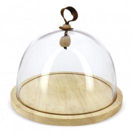 REVOL Touch kerek süteménytartó üvegbúrával; Ø 30,5 cm; Revol