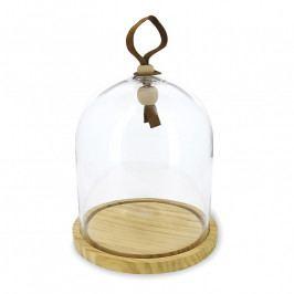 REVOL Touch kerek tál üvegbúrával, Ø 20 cm