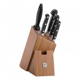 ZWILLING ZWILLING® Pro késkészlet fenőacéllal és bambusz késtartó blokkal, 6 darabhoz