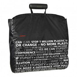 Stelton I:cons bevásárló táska, statement black