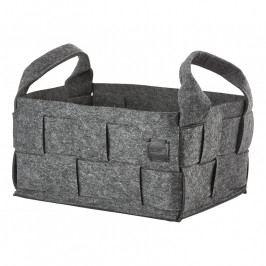 ZONE HIDE nagyméretű tárolókosár, dark grey