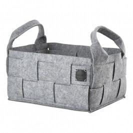 ZONE HIDE nagyméretű tárolókosár, grey