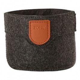ZONE CRAFT kisméretű tárolókosár, dark grey