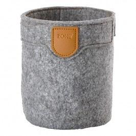 ZONE CRAFT nagyméretű tárolókosár, grey