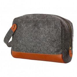 ZONE CRAFT táska kozmetikai kellékekhez, nagyméretű, dark grey