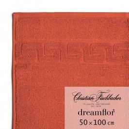 Christian Fischbacher Dreamflor® törölköző, 50 x 100 cm, skarlátvörös, Fischbacher
