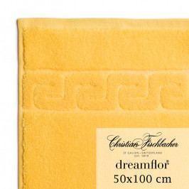 Christian Fischbacher Dreamflor® törölköző, 50 x 100 cm, sárga, Fischbacher