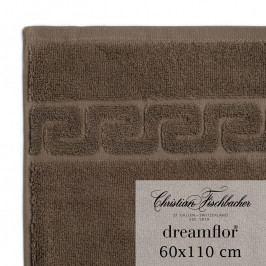 Christian Fischbacher Dreamflor® nagyméretű törölköző, 60 x 110 cm, barna, Fischbacher