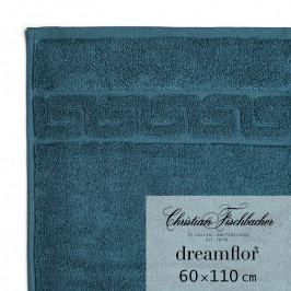 Christian Fischbacher Dreamflor® nagyméretű törölköző, 60 x 110 cm, petróleumkék, Fischbacher