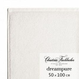 Christian Fischbacher Dreampure törölköző, 50 x 100 cm, krétafehér, Fischbacher