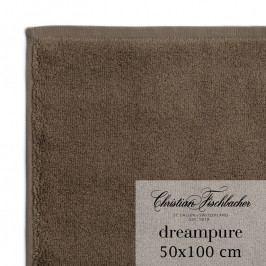 Christian Fischbacher Dreampure törölköző, 50 x 100 cm, barna, Fischbacher