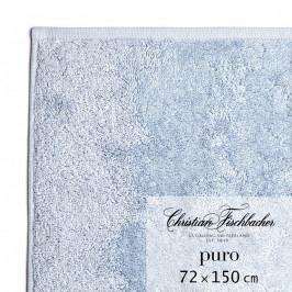Christian Fischbacher Puro fürdőtörölköző, 72 x 150 cm, ezüstkék, Fischbacher