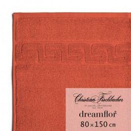 Christian Fischbacher Dreamflor® fürdőtörölköző, 80 x 150 cm, skarlátvörös, Fischbacher