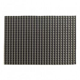 ZONE Tányéralátét, 30 × 40 cm, black silver