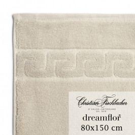 Christian Fischbacher Dreamflor® fürdőtörölköző, 80 x 150 cm, homokszínű, Fischbacher