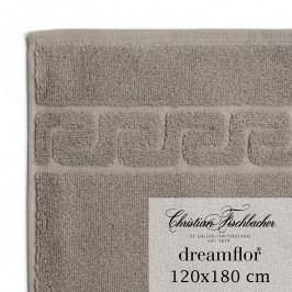 Christian Fischbacher Dreamflor® nagyméretű fürdőtörölköző, 120 x 180 cm, szürkésbarna, Fischbacher