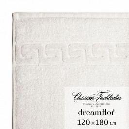 Christian Fischbacher Dreamflor® nagyméretű fürdőtörölköző, 120 x 180 cm, krétafehér, Fischbacher