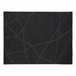 ZONE Tányéralátét, 30 × 40 cm, black line pattern